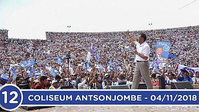 Fin de la campagne du 1er tour  de l'election presidentielle à Madagascar : Hery Rajaonarimampianina repond aux attentes de la population malagasy