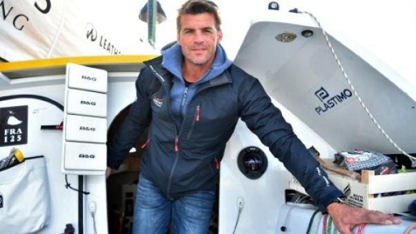 Route du Rhum: des skippers à l'abri à Brest