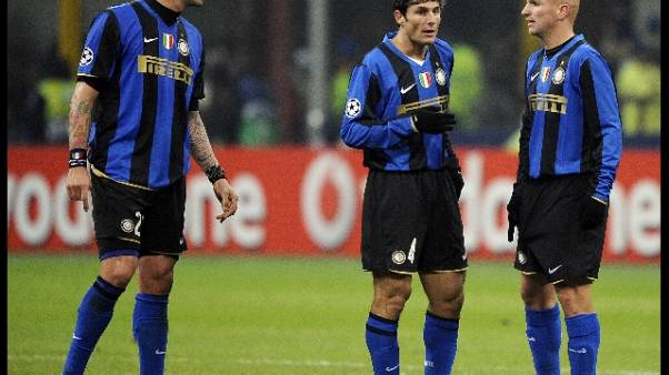 Inter-Barcellona, anche sfida 'leggende'