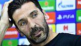 """Paris SG: """"Une chance de pouvoir retourner en Italie dans un match de Ligue des champions"""" dit Buffon"""