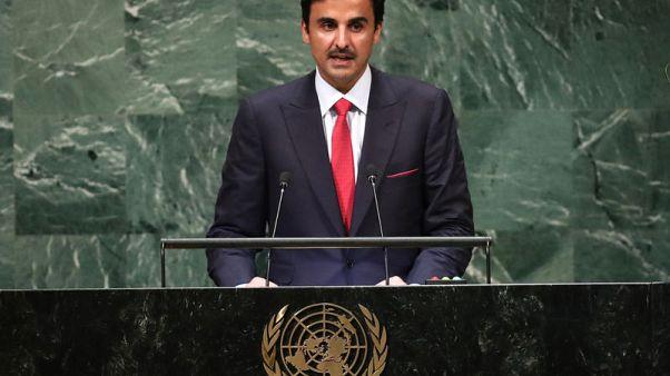أمير قطر يأمل في انتهاء أزمة الخليج من أجل صالح المنطقة