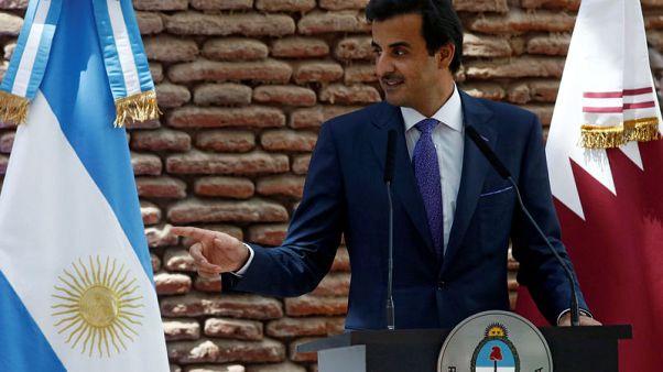 Qatar's ruler hopes Gulf crisis will end for sake of region