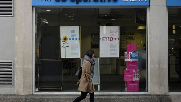 Britain's Co-operative Bank reports nine-month loss of $114 million