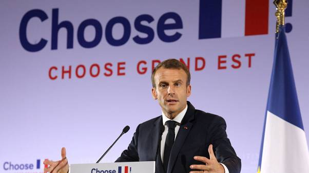 EU needs to protect workers more, France's Macron says