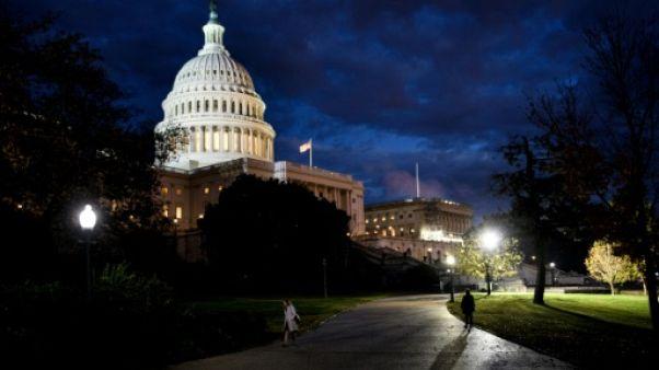Le Congrès des Etats-Unis à Washington, le 6 novembre 2018