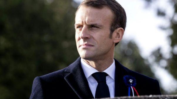 """Macron plaide pour une """"armée européenne"""" capable d'agir"""