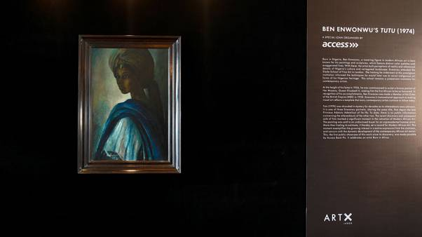 Nigeria's 'Mona Lisa' shown at home for first time since it resurfaced