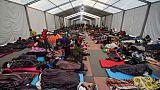 La caravane de migrants fait une pause à Mexico, loin des élections américaines