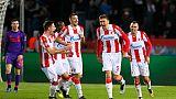 Ligue des champions: Liverpool s'écroule à Belgrade et offre un peu de répit à Paris