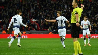 Ligue des champions: Kane redonne espoir à Tottenham