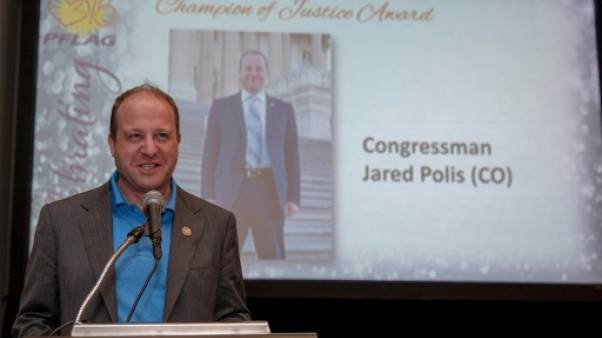 Jared Polis à Washington, le 8 mai 2018