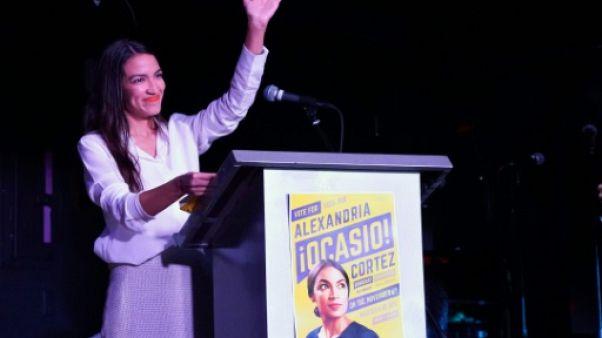 Ocasio-Cortez, benjamine du Congrès et espoir de l'aile gauche du parti démocrate