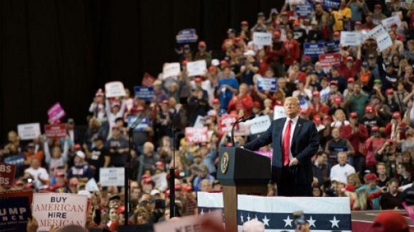 Dans la défaite, Trump fait du Trump