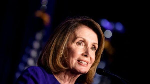 Nancy Pelosi le 6 novembre 2018 à Washington