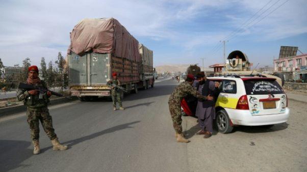 Afghanistan: Ghazni-Kaboul, l'autoroute de la peur