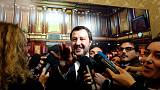 Italy's government is at no risk of falling, deputy PM Salvini says