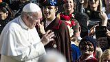 Papa: le maschere italiane in Vaticano