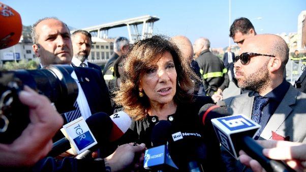 Maltempo: Casellati visiterà zone Veneto
