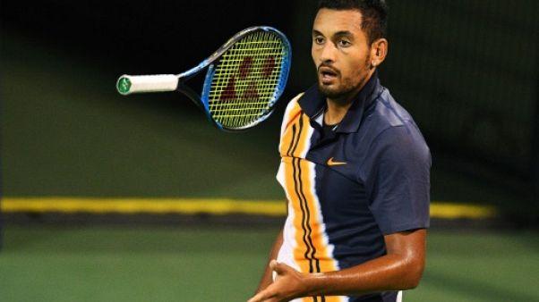 Tennis: le colérique Kyrgios consulte des psychologues