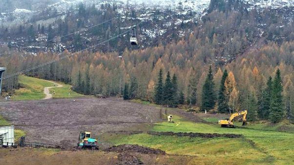 Maltempo:Dolomiti,salva stagione inverno