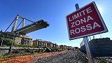 Crollo ponte:ripresa aziende zona rossa