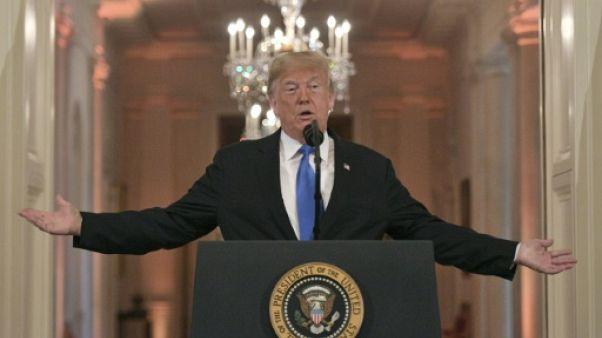 Donald Trump à la Maison Blanche le 7 novembre 2018