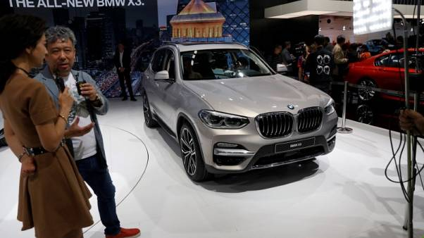 BMW CFO says to decide on building additional cars in China in coming weeks