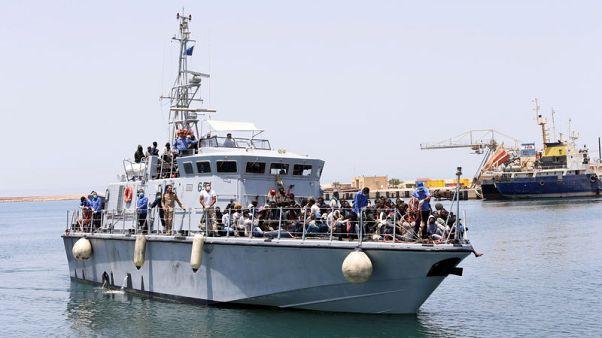 خفر السواحل الليبي ينتشل 315 مهاجرا من البحر المتوسط