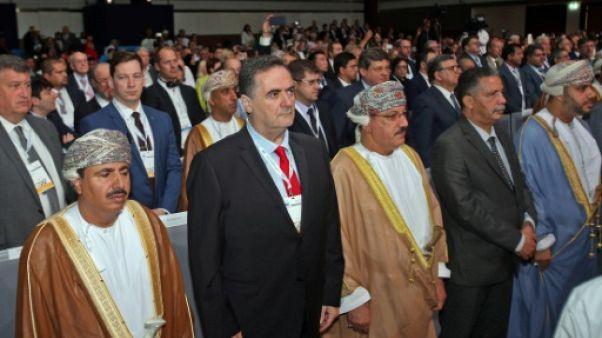 """A Oman, Israël présente son projet ferroviaire la """"voie de la paix régionale"""""""