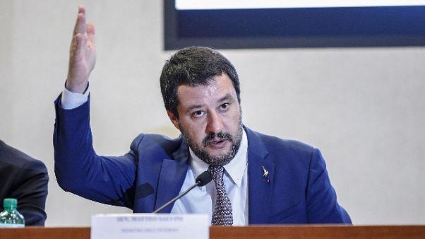 Salvini, a Roma 90 occupazioni