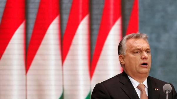EU's biggest grouping puts Hungary's Orban on notice amid rights concerns