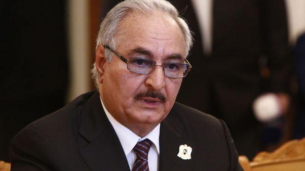 حفتر يزور روسيا قبل مؤتمر دولي بشأن ليبيا