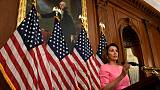 Pelosi - Democrats won U.S. House on healthcare