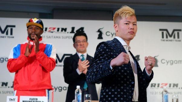 Mayweather annule son combat contre un kickboxeur japonais