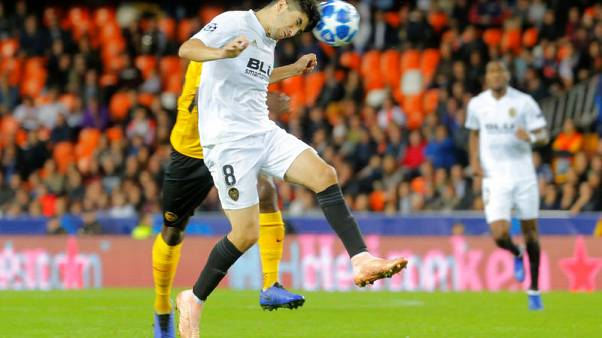 Soler stars as Valencia boost Champions League last-16 hopes