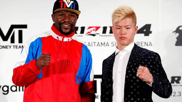 Mayweather says 'never agreed' to fight Japanese kickboxer