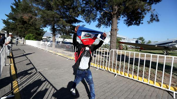 Chile sends 176 Haitian migrants home on criticised 'humanitarian flight'