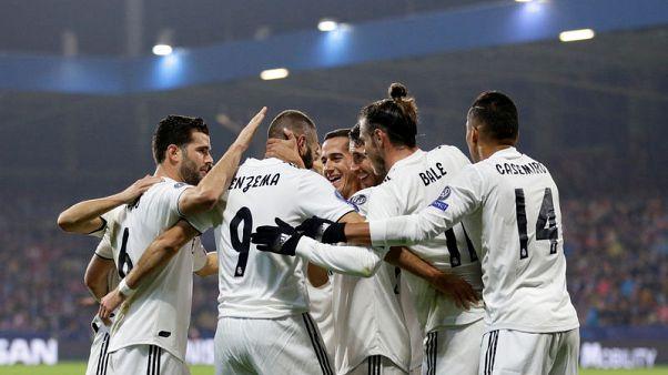 هدفان لبنزيمة في فوز ريال 5-صفر على فيكتوريا بلزن