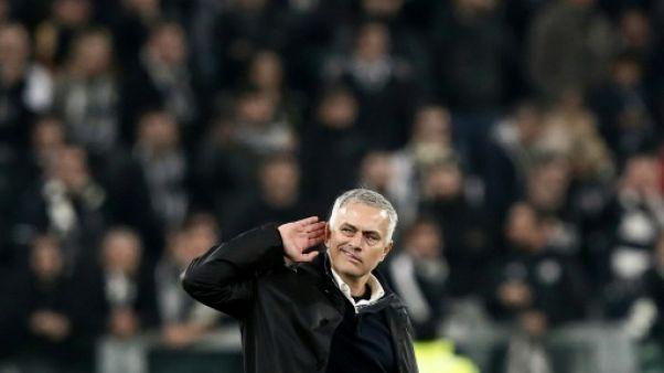 Ligue des Champions: Mourinho et Manchester braquent la Juventus