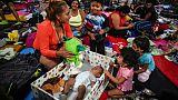 5.500 migrants en route pour les USA sont arrivés à Mexico