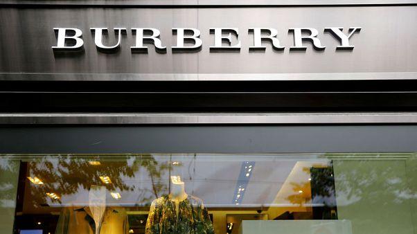 Burberry says new designer creating buzz to drive turnaround
