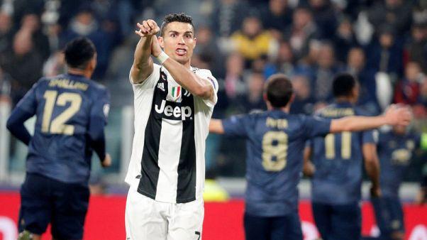 Ronaldo bemoans Juve's Champions League 'present' to Man Utd