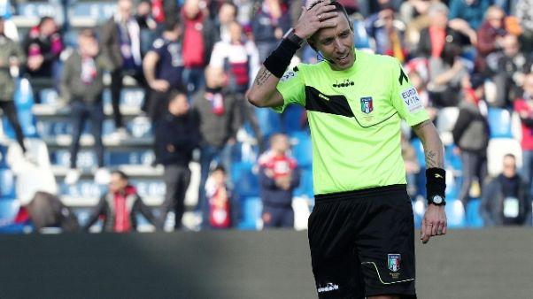 Arbitri, Milan-Juve a Mazzoleni