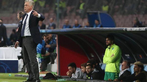 Ancelotti, ho convinto Hamsik a restare