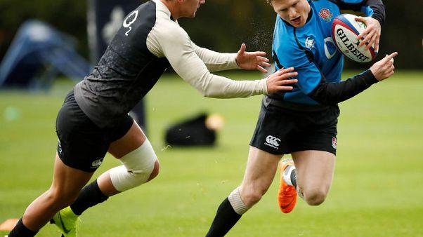 Ashton, Underhill and Moon start for England