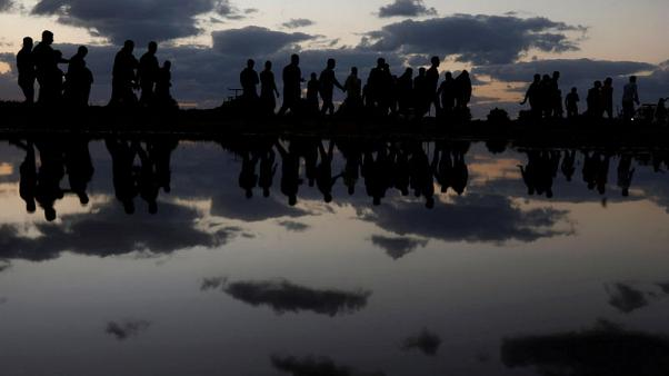 هدوء في الاحتجاجات الحدودية في غزة بفعل الطقس الشتوي والدبلوماسية