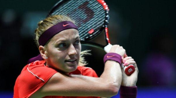 Fed Cup: la Tchèque Kvitova, malade, incertaine pour la finale