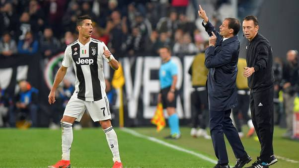 Allegri angry about Juve's tendency to doze off