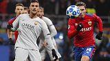 Champions: Roma rientrata da Mosca