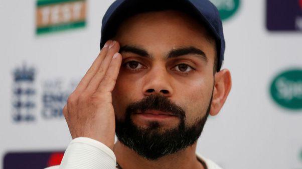 India captain Kohli draws flak for 'leave India' remark